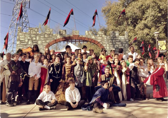 Image of The Renaissance Faire on March 11 is an annual event headlined by the seventh grade class.